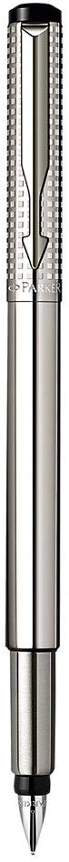 Parker Classic SS Chiselled Vector Fountain Pen Medium