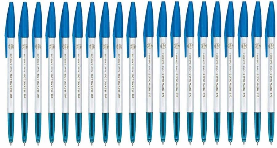 Reynolds 045 Fine Carbure Ball Point Blue Pen