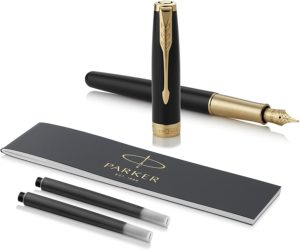 Parker Sonnet Black Lacquer Fountain Pen